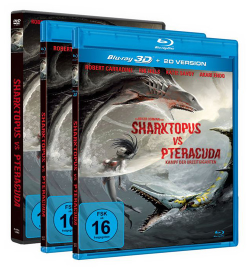 sharktopus vs pteracuda. Black Bedroom Furniture Sets. Home Design Ideas
